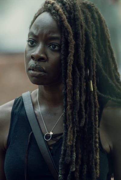 Michonne Chats About the Drama - The Walking Dead