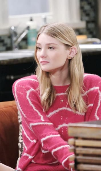 Allie Confides in Lani/Tall - Days of Our Lives