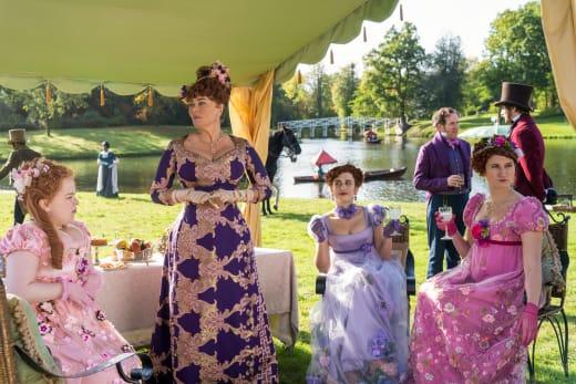 An Exquisite Party on Bridgerton