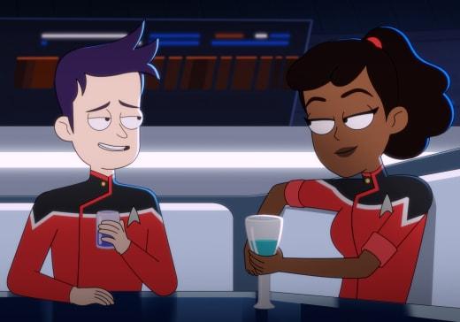 Chillaxing - Star Trek: Lower Decks Season 1 Episode 10