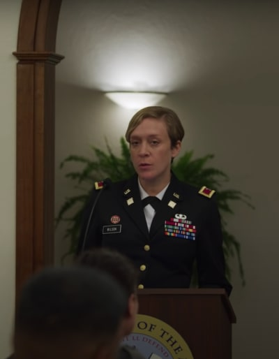 Colonel Sarah - We Are Who We Are Season 1 Episode 7