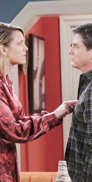 Giving Lucas The News/Tall - Days of Our Lives