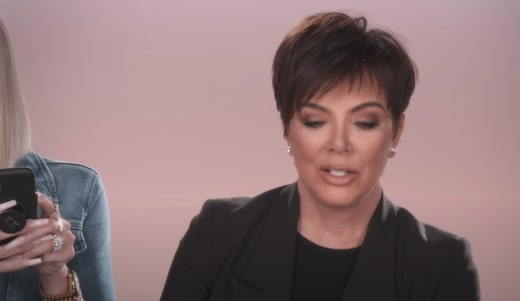 Kris is Shocked - Keeping Up with the Kardashians