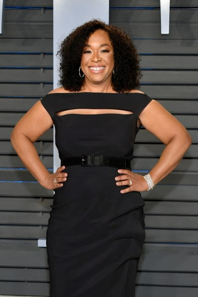 Shonda Rhimes Black Dress