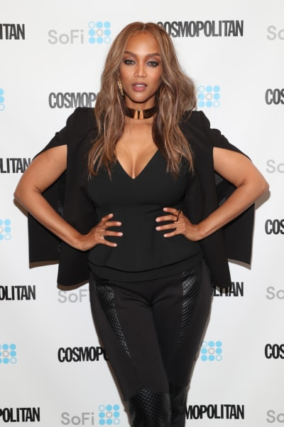 Tyra Banks Attends Cosmopolitan Event