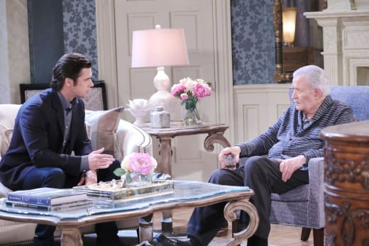 Victor Fires Xander - Days of Our Lives