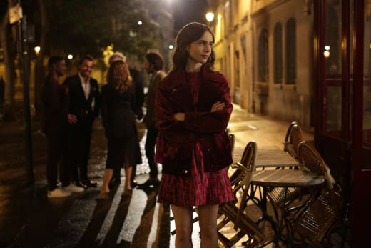 Waiting for Gabriel - Emily in Paris