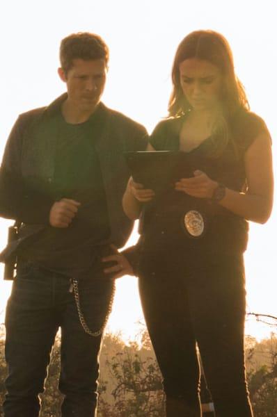 Walker + McKenna - LA's Finest Season 1 Episode 2