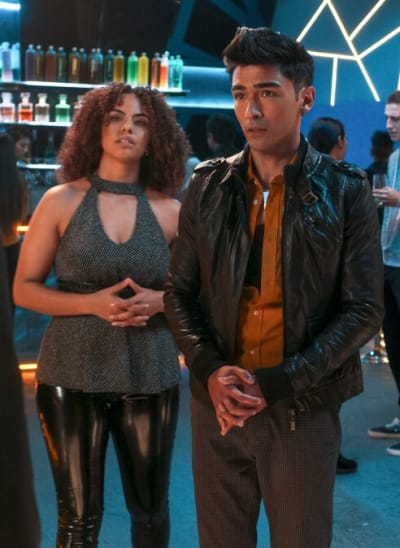 Zazie and Jett - Pandora Season 2 Episode 1