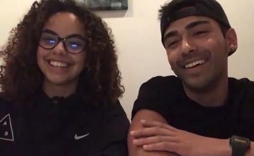 Zoom Nicole and Akshay