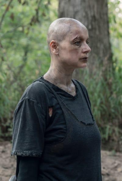 Alpha Makes a Decision - The Walking Dead Season 10 Episode 11