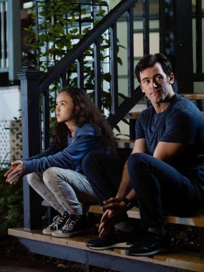 Amira Waits With Theo - Transplant Season 1 Episode 8