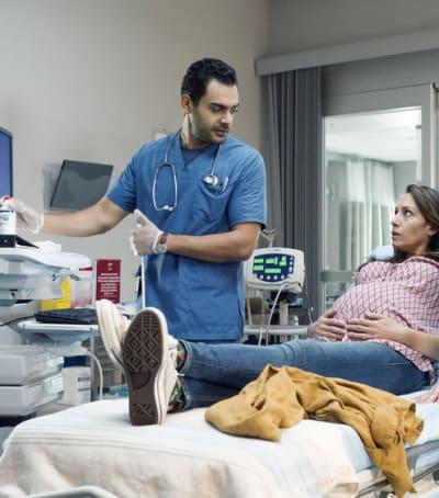 Bash Does An Ultrasound - Transplant Season 1 Episode 8
