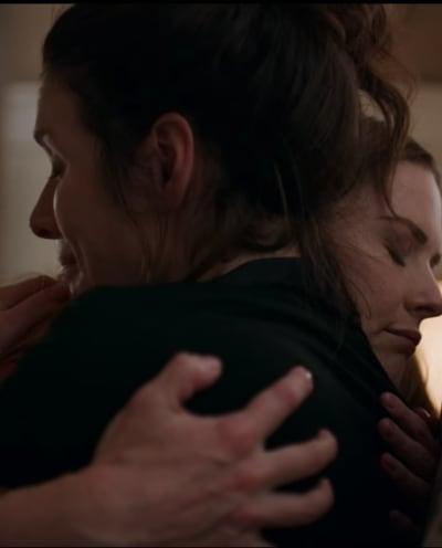 Char and Mel Hug - Virgin River Season 2 Episode 3