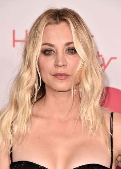 Kaley Cuoco Attends Charity Event