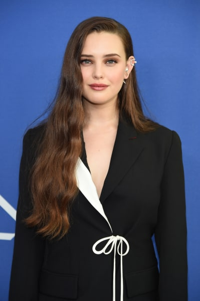 Katherine Langford Attends Fashion Show