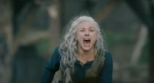 Lagertha's Screams Die Out - Vikings