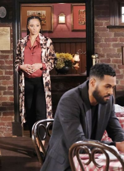 Lani Confronts Eli - Days of Our Lives