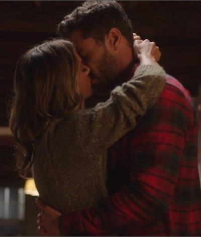 Long-Awaited Kiss - A Welcome Home Christmas