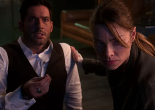 Lucifer got Shot Season 5 Episode 8