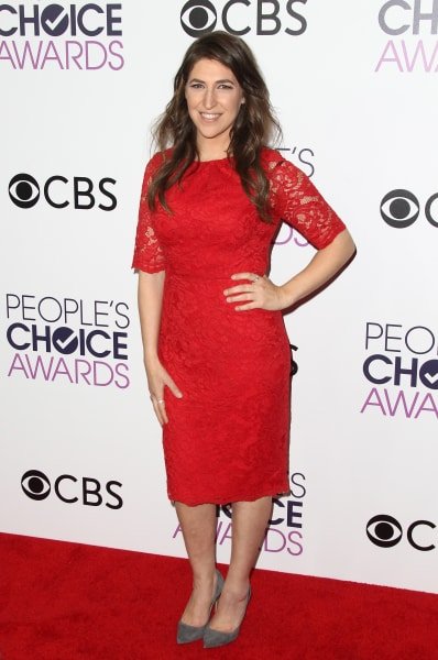 Mayim Bialik Attends People's Choice Awards