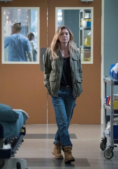 Mer Dressed Down - Tall  - Grey's Anatomy Season 16 Episode 4