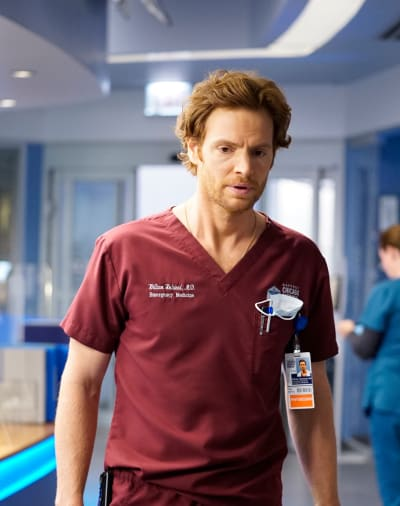 Nick Gehlfuss as Will Halstead/Tall - Chicago Med