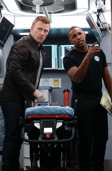 Owen and Ben - Station 19 Season 3 Episode 11