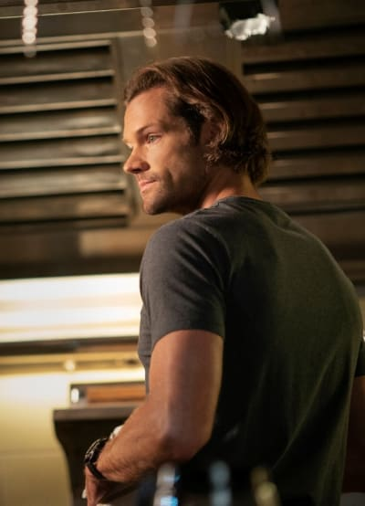 Sam In the Bunker - Supernatural Season 15 Episode 20