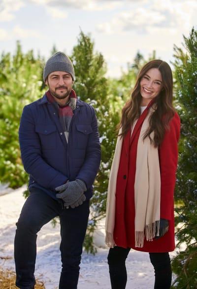 Tyler Hynes and Mallory Jansen