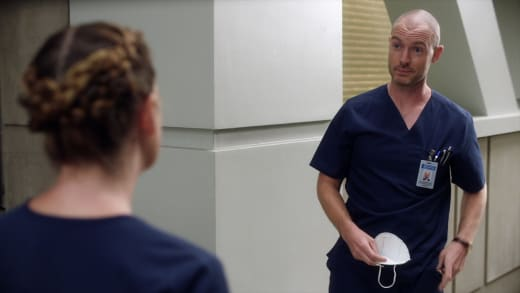 Updates and Chats  - Grey's Anatomy Season 17 Episode 2