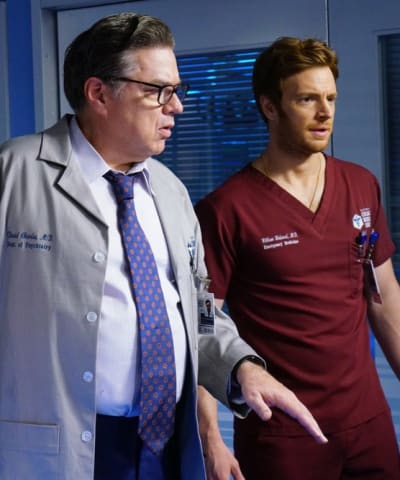 Will Consults Dr. Charles - Chicago Med Season 5 Episode 7