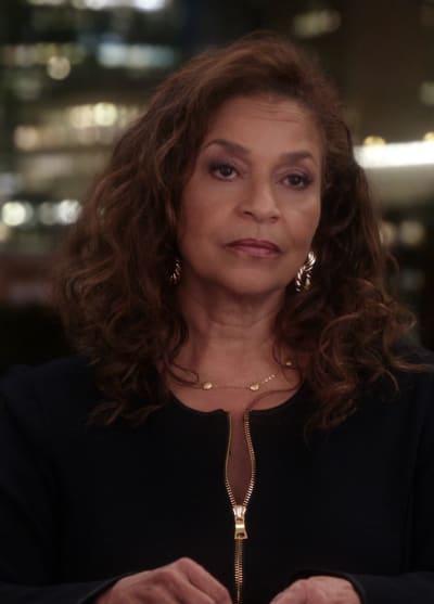 Wistful Catherine - Tall - Grey's Anatomy Season 17 Episode 2