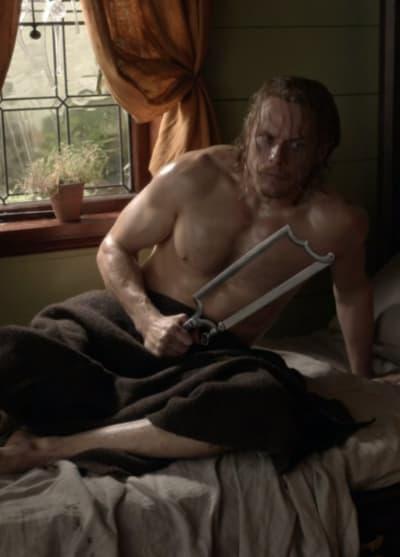 You're Not Taking My Leg - Outlander Season 5 Episode 9