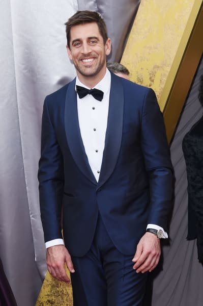 Aaron Rodgers Attends 88th Annual Academy Awards