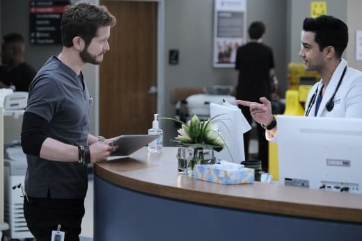 Back at Work  - The Resident Season 4 Episode 2