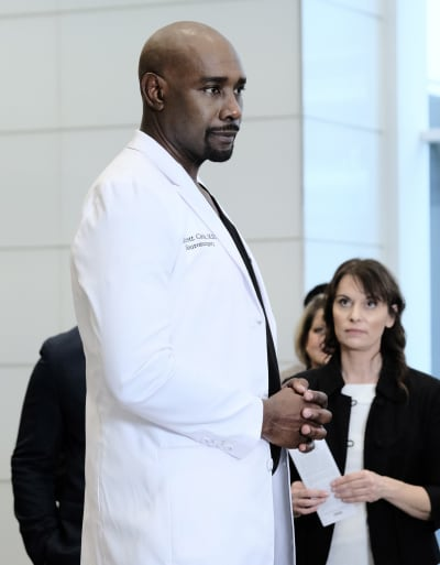 Cain's New Unit - Tall  - The Resident Season 3 Episode 15