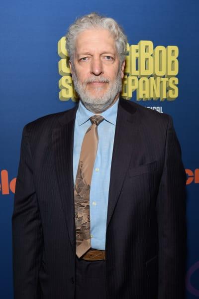 Clancy Brown Attends Spongebob Broadway Opening