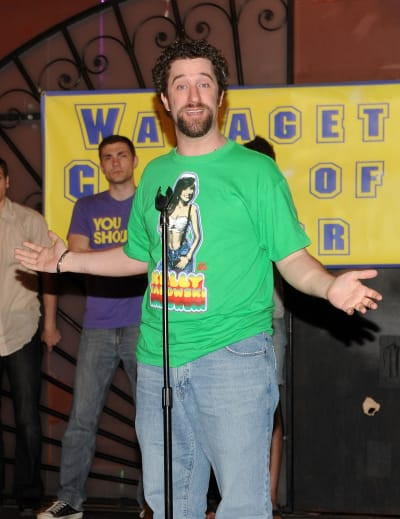 Dustin Diamond Attends TV Event