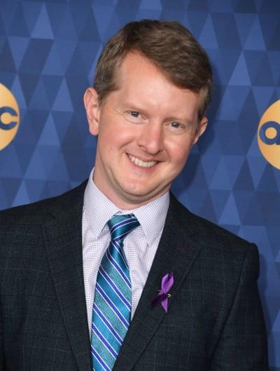 Ken Jennings Smiles at Event