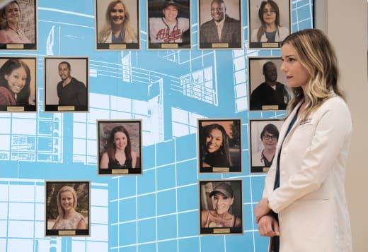 Memorial Wall  - The Resident Season 4 Episode 2