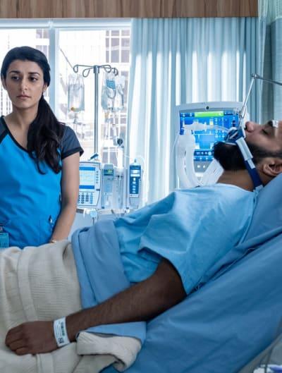 Naz Blames Herself - Nurses Season 1 Episode 6