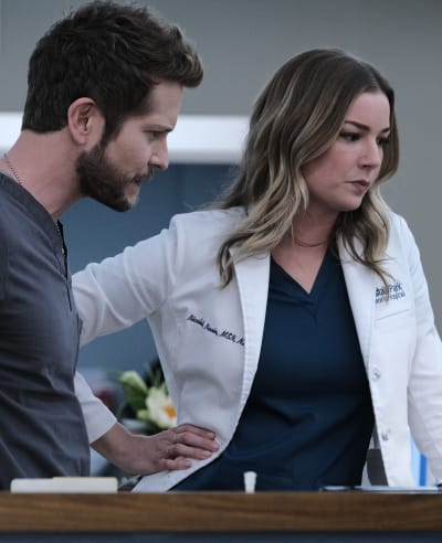 Parents - to- Be - Tall - The Resident Season 4 Episode 3