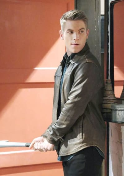 Tripp Confronts Charlie/Tall - Days of Our Lives