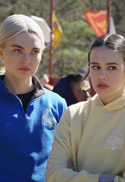 Unimpressed Sisters - Legacies Season 3 Episode 1