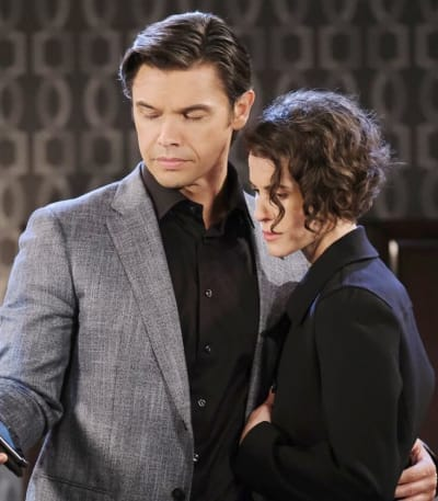 Xander Explodes/Tall - Days of Our Lives
