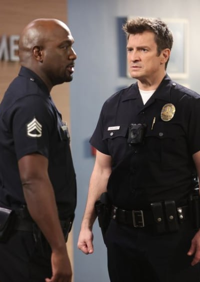 A Conversation With Sgt. Grey - The Rookie Season 3 Episode 5