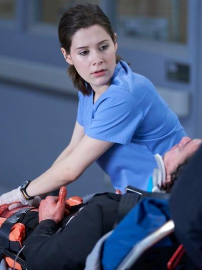 Ashley Helps Ezriel - Nurses Season 1 Episode 8