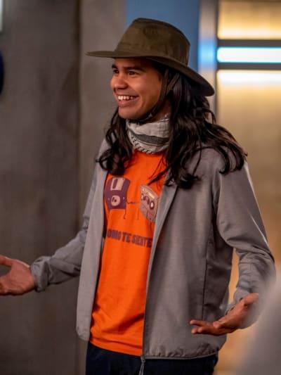 Cisco Ramon - The Flash Season 6 Episode 14