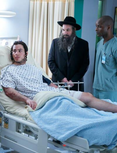 Ezriel and His Father - Nurses Season 1 Episode 8